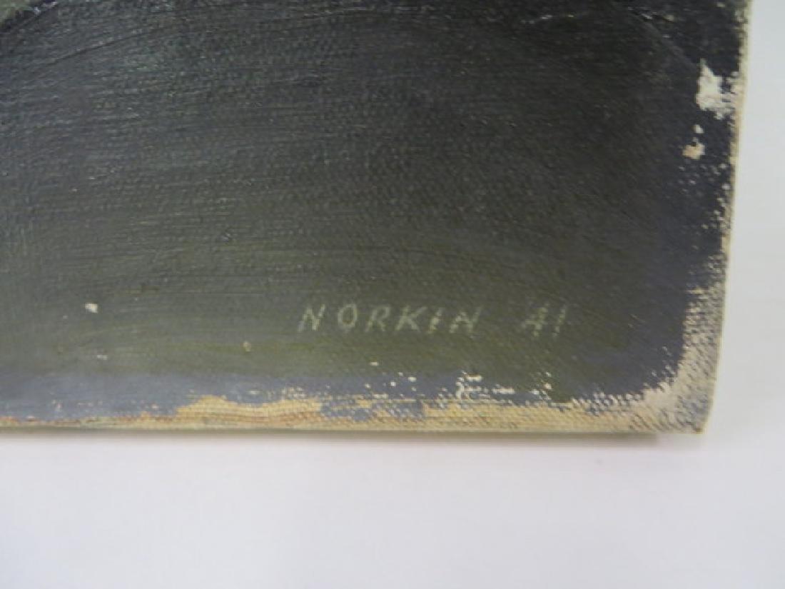 Sam Norkin Original Oil Sgd. - 2