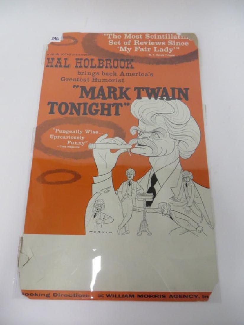 Sam Norkin Theatre Poster