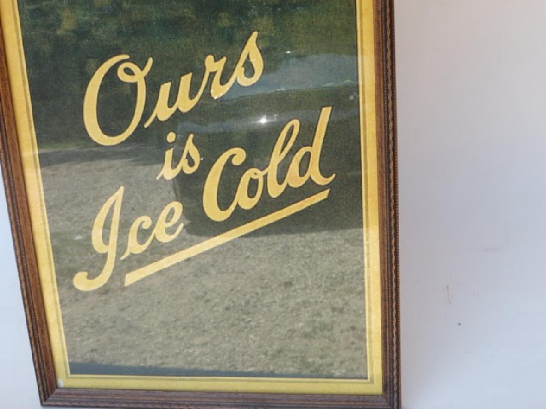Coca-Cola Sign. Ours is Ice Cold - 4
