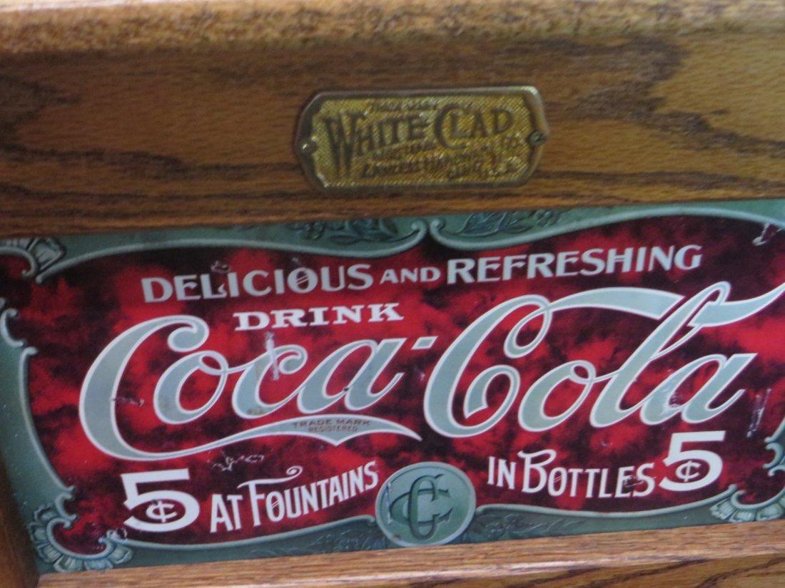 Coca-Cola Oak Ice Box - 3