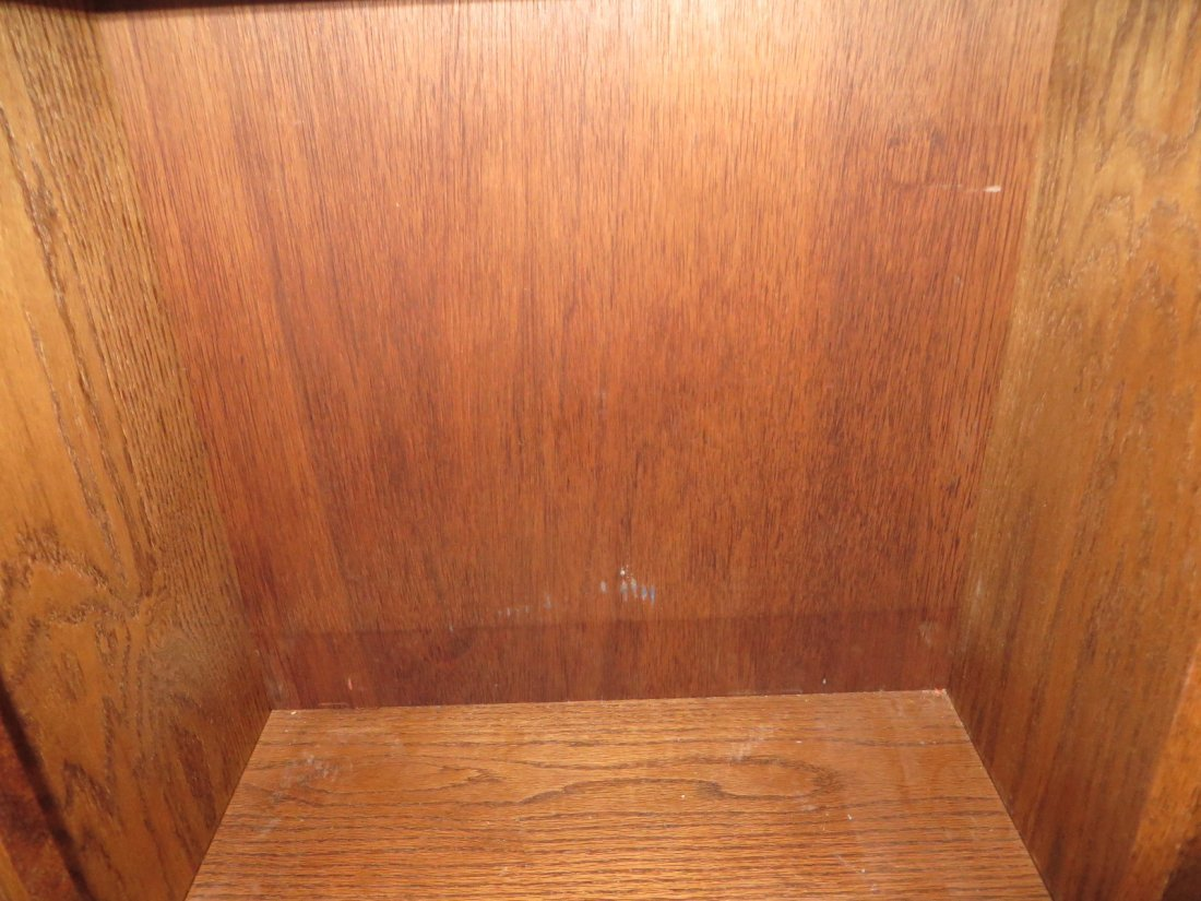 Coca-Cola Oak Ice Box - 7
