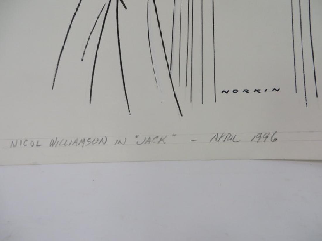Sam Norkin Pen and Ink Illustration Sgd. - 2