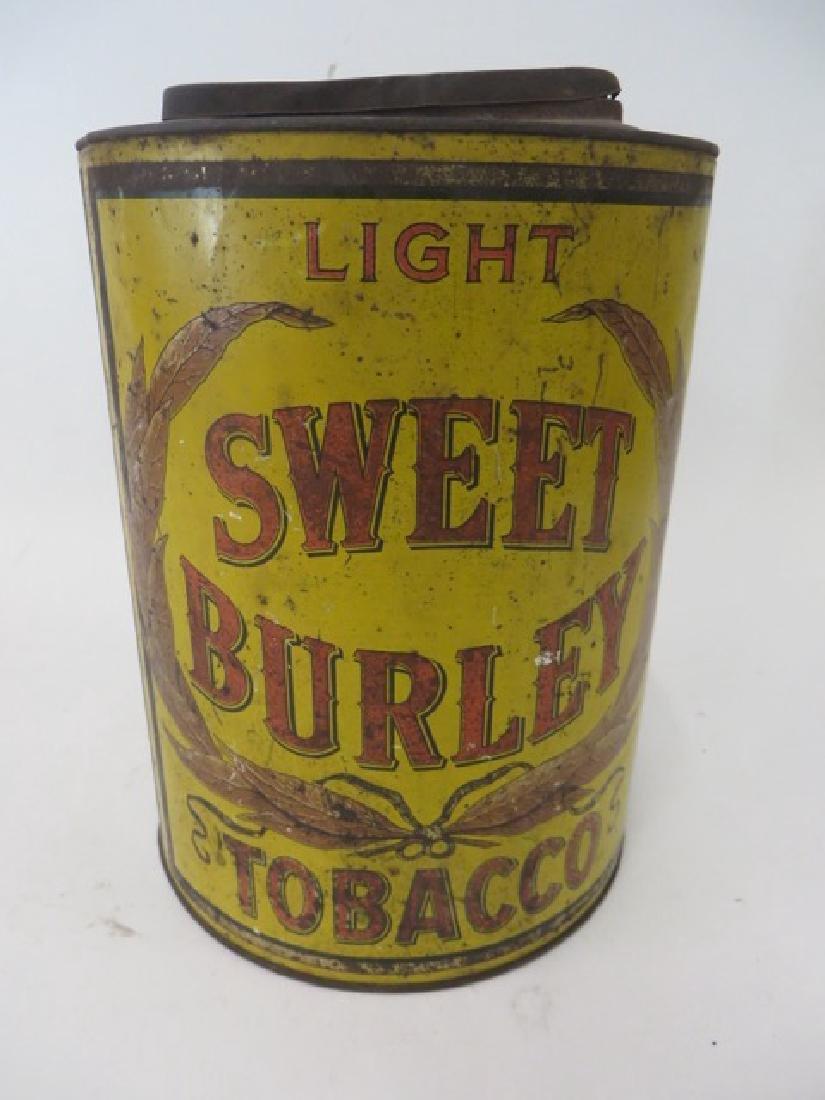 Sweet Burley Tobacco Tin