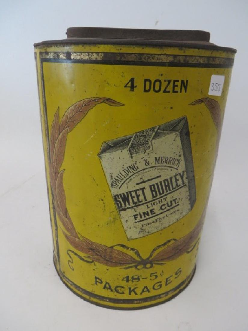 Sweet Burley Tobacco Tin - 2