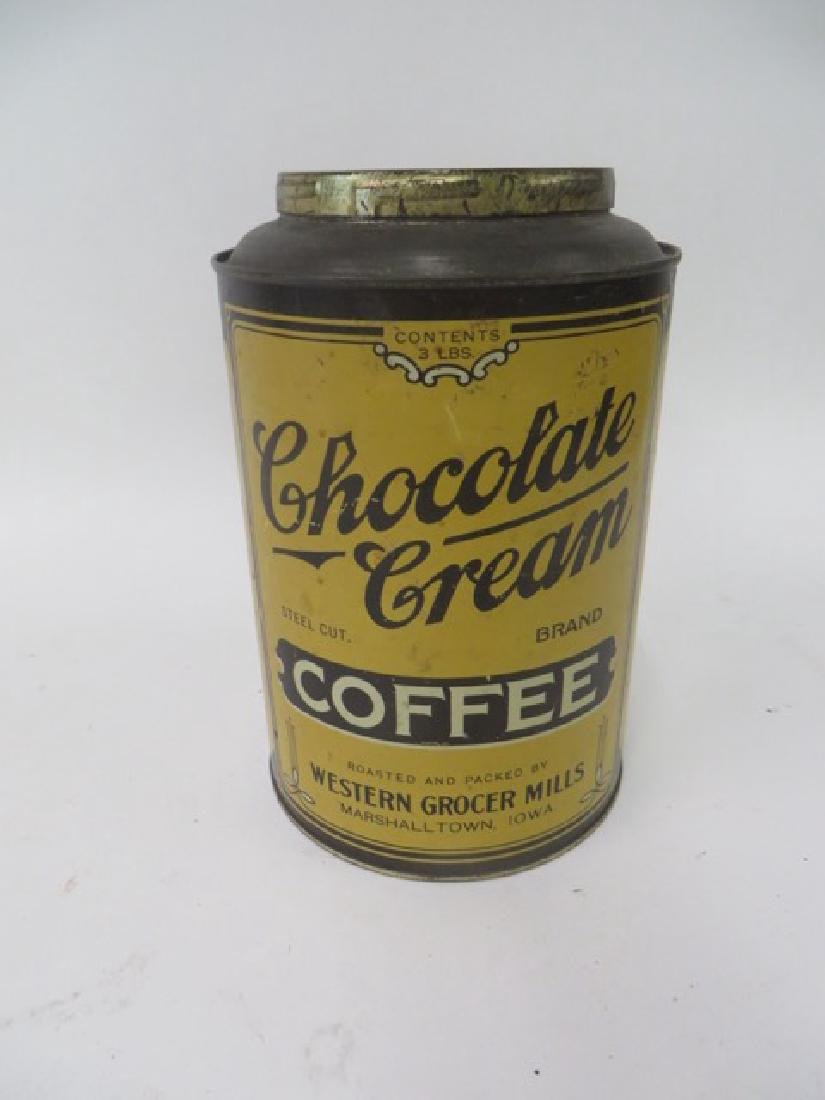 Chocolate Cream Brand Coffee Tin