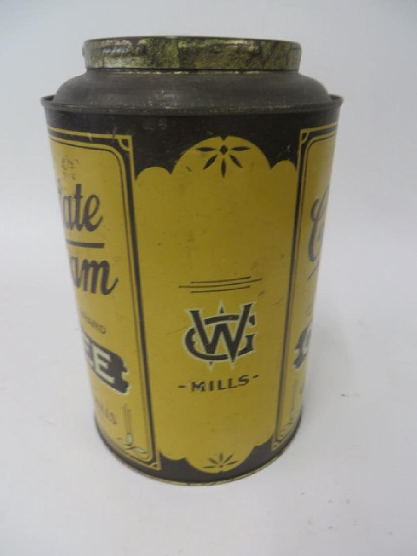 Chocolate Cream Brand Coffee Tin - 3