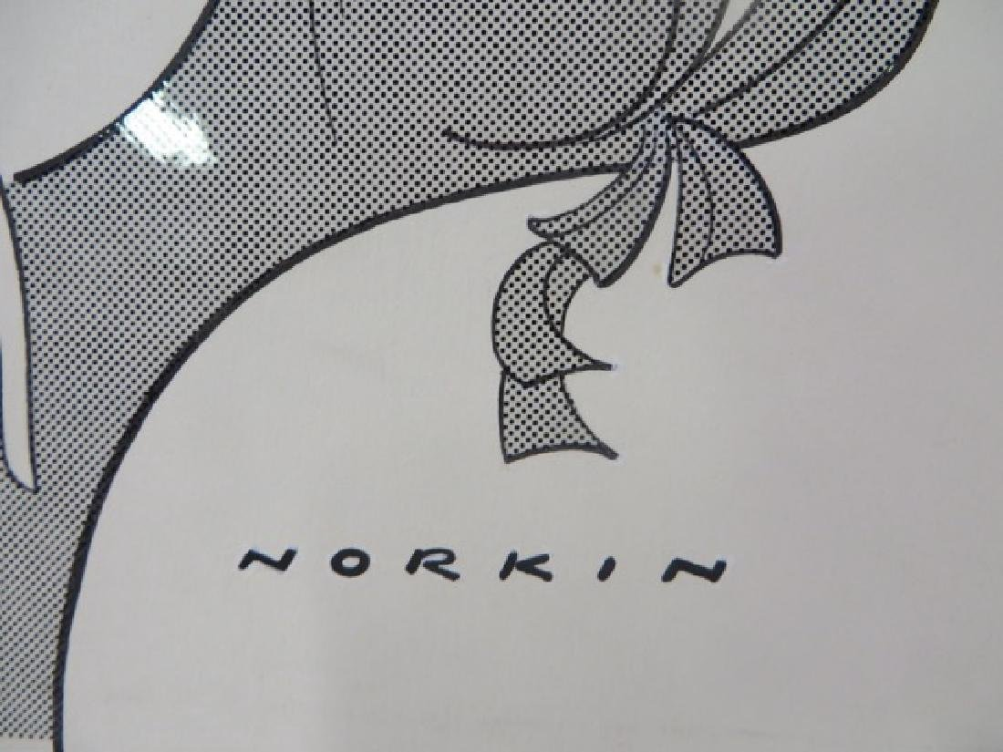 Sam Norkin Pen and Ink Illustration Sgd. - 2