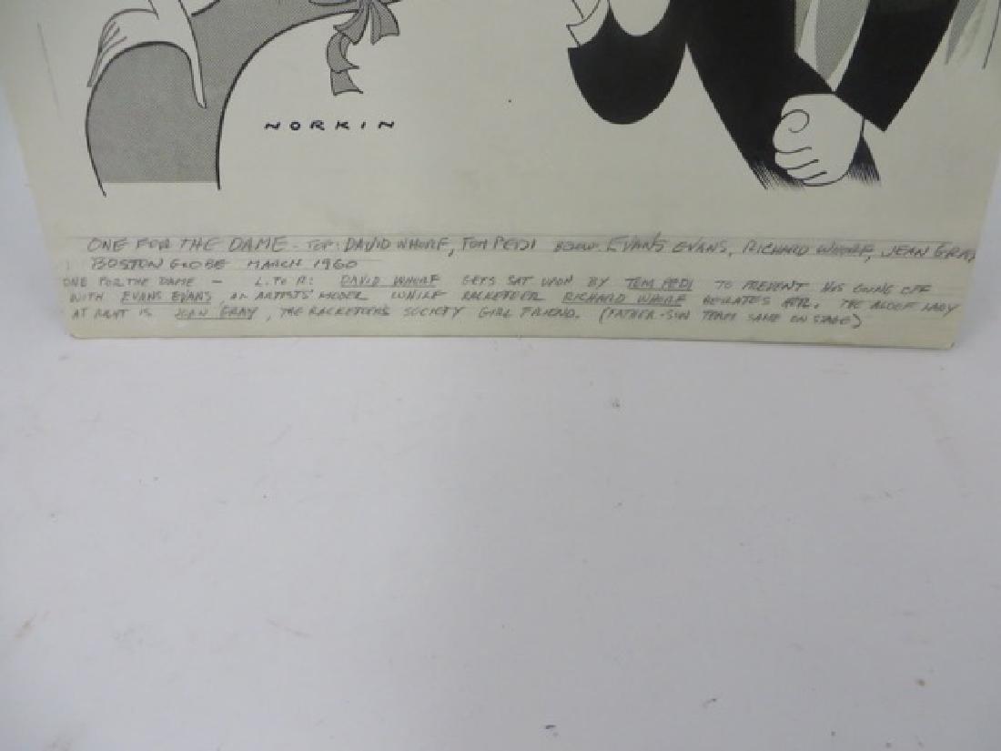 Sam Norkin Pen and Ink Illustration Sgd. - 3