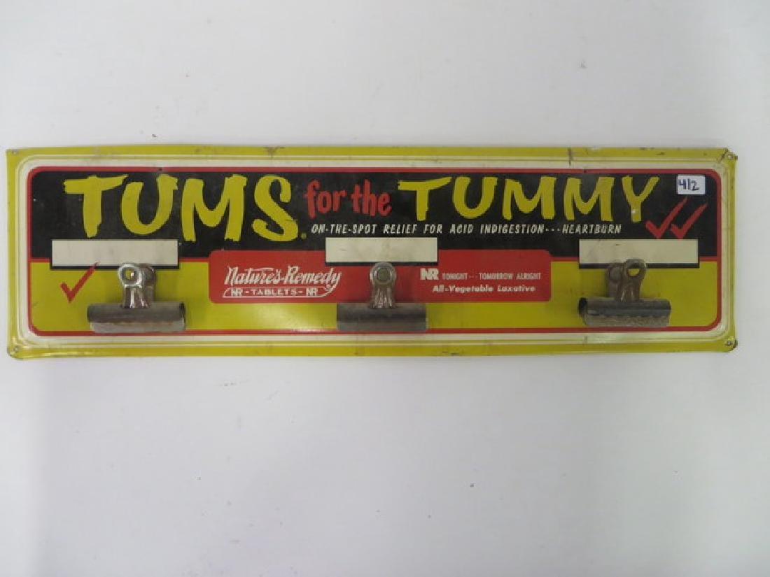 Tums for the Tummy Advertising Sign - 2