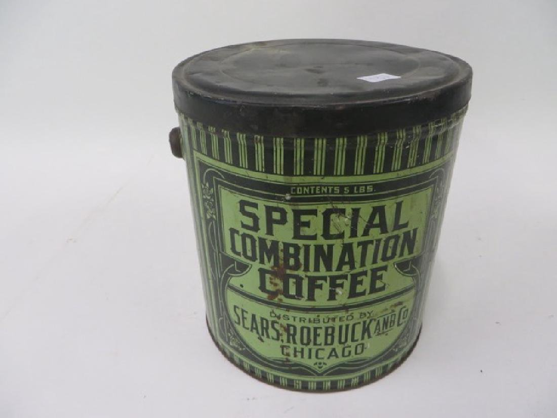 Sears Roebuck Special Combination Coffee Tin - 2