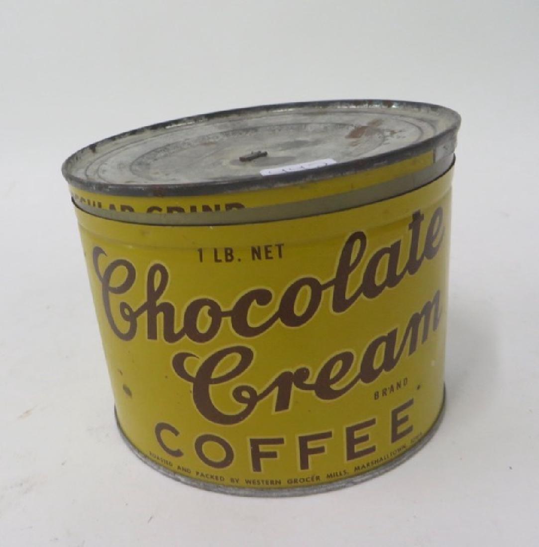 Choc Cream Brand Coffee Tin