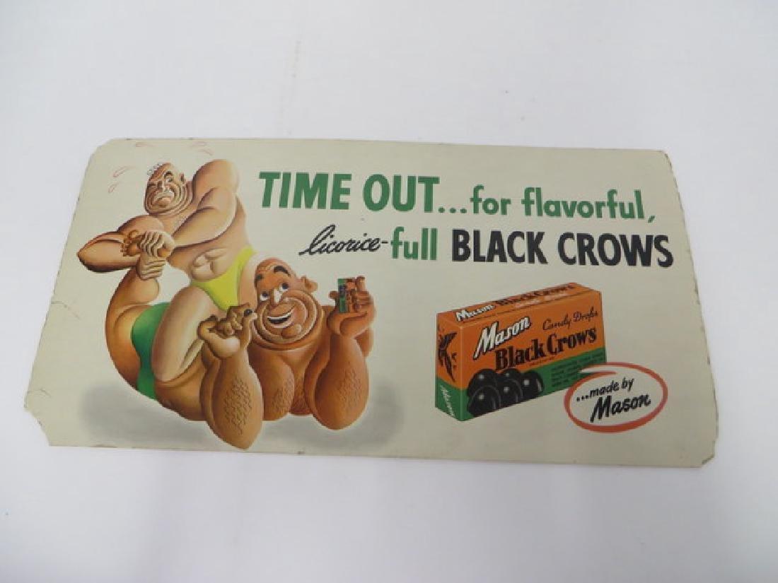 Mason Black Crows Candy Ad