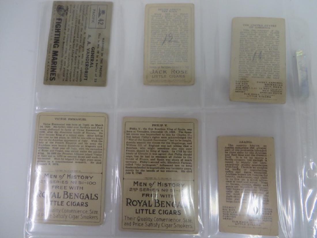 Royal Bengals Jack Rose  Cigar Cards (6) - 2