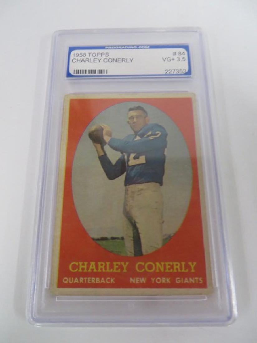 PGS Graded Cards. Conerly & Fitzgerald