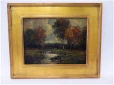 Julian Onderdonk. Landscape. Sgd.