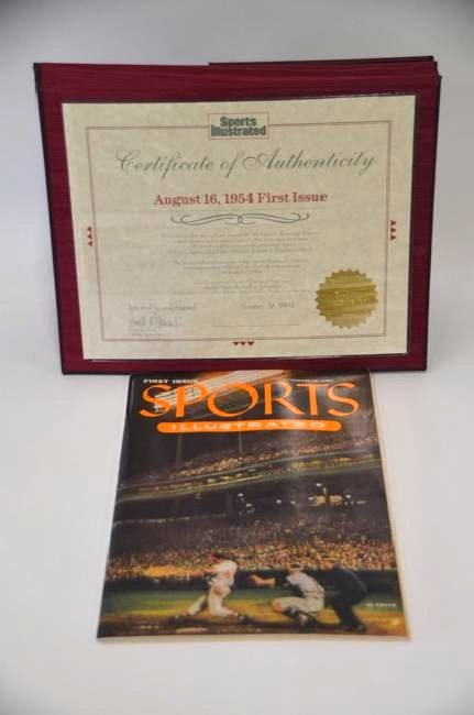 Sports Illustrated First Edition 8/16/54