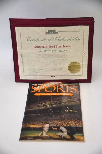 Sports Illustrated First Edition 8/16/54 - 2