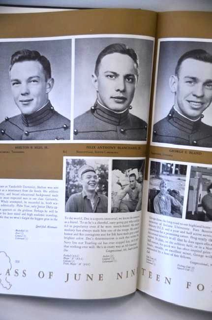 Doc Blanchard Glenn Davis Yearbook
