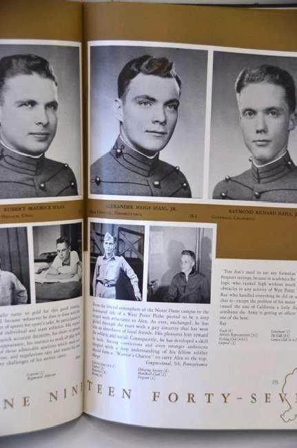 Doc Blanchard Glenn Davis Yearbook - 4