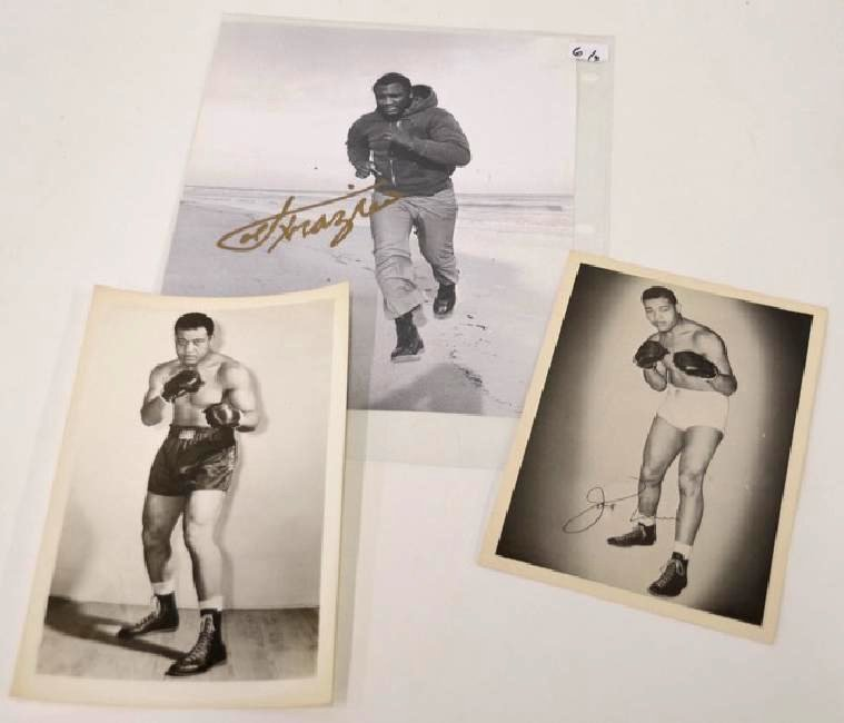 Joe Frazier & Joe Louis  Photographs