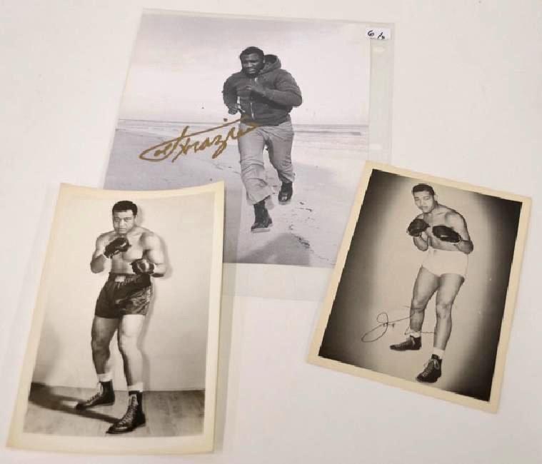 Joe Frazier & Joe Louis  Photographs