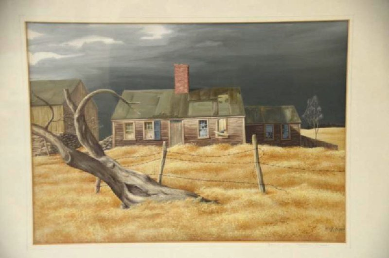 Ethel M.  Gilmore. Watercolor. Signed - 2