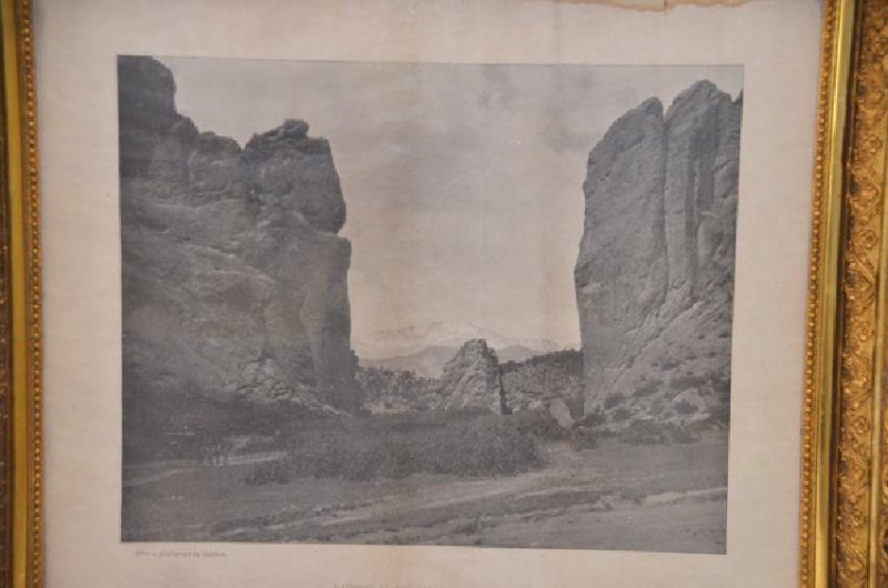 Western Photograph. Gateway to Garden - 3