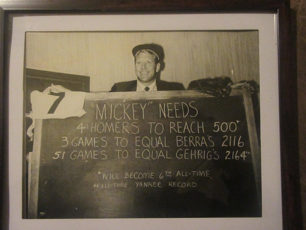 Mickey Mantle Photograph - 2