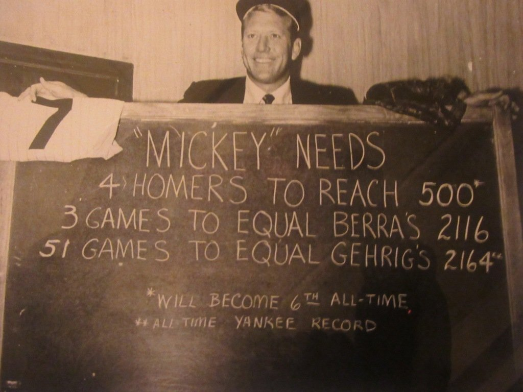 Mickey Mantle Photograph - 3