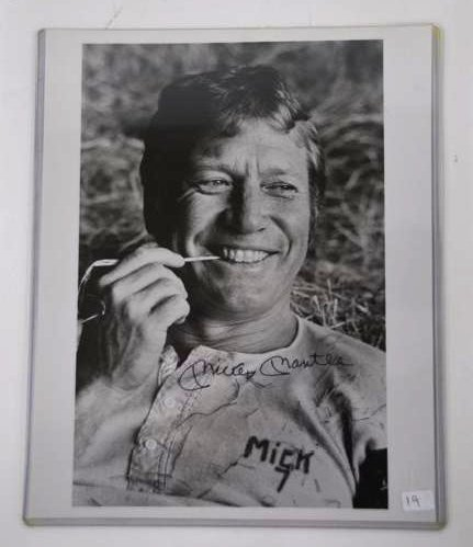 Mickey Mantle Photograph