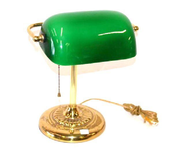"""Emeralite"" Lamp Brass Base"