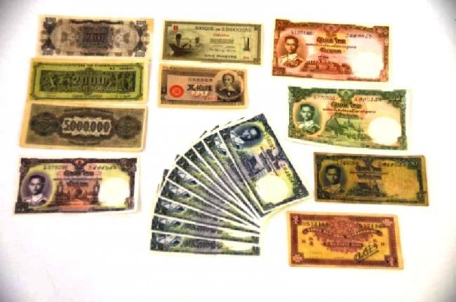 Estate Paper Currency Lot (20))