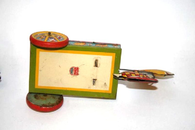 J. Chien Tin Toy Rabbit  Wagon - 3