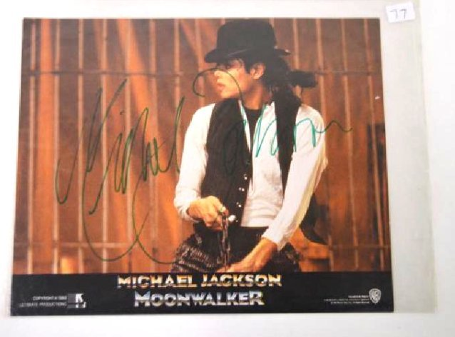 Michael Jackson Moonwalker Photo