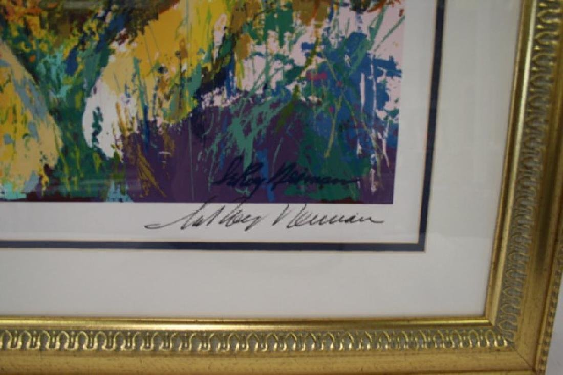 LeRoy Neiman Serigraph Royal Family - 2