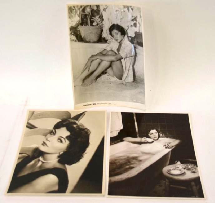 Joan Collins Publicity Photographs (3)