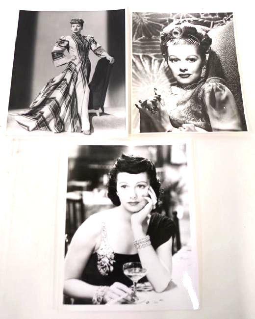 Lucille Ball Photographs (3)
