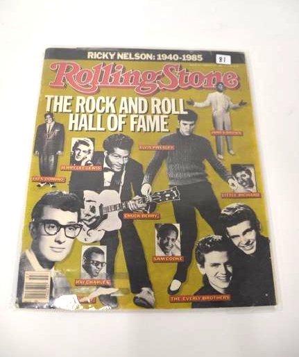 Rolling Stone Magazine Feb. 13 1986