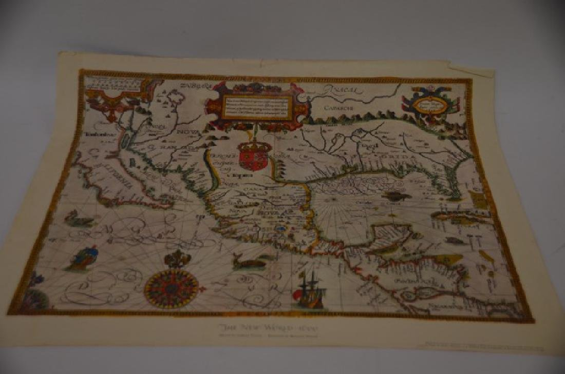 World and Tartary Maps
