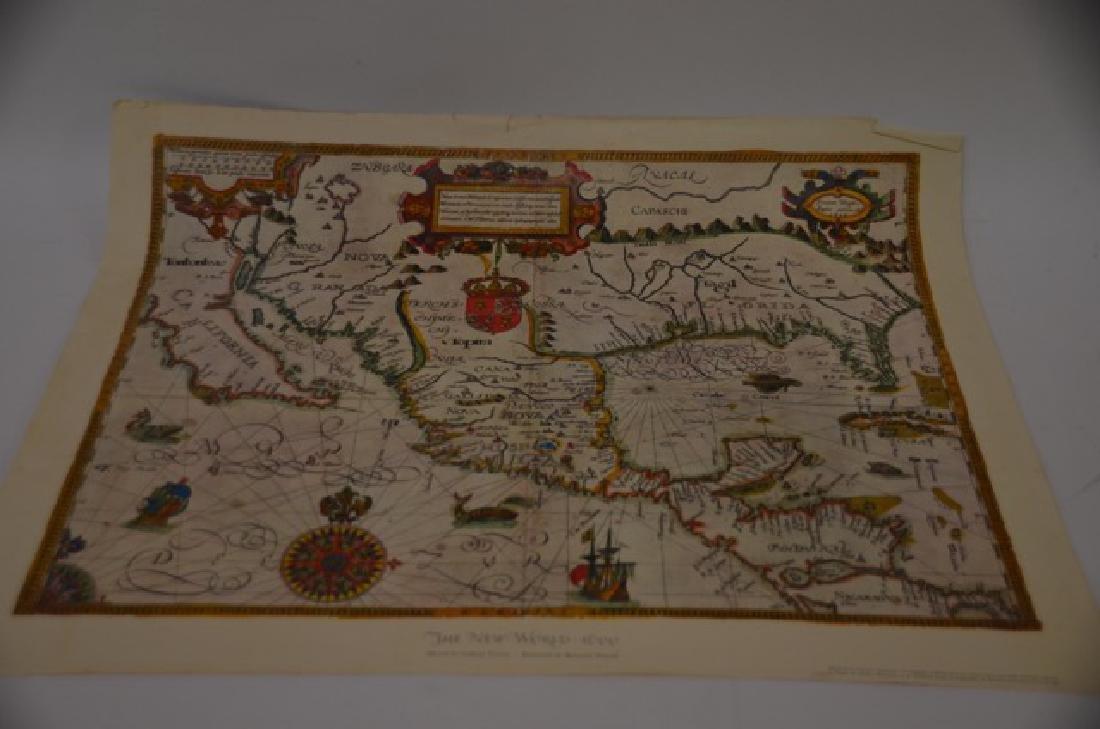 World and Tartary Maps