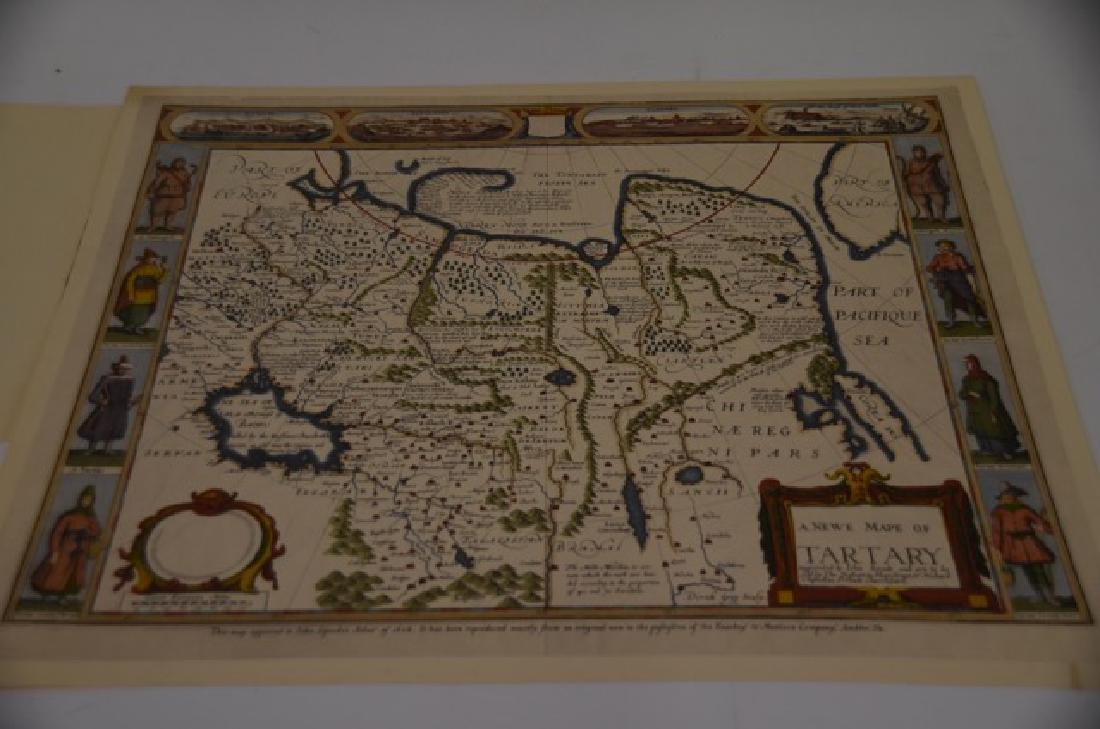 World and Tartary Maps - 4