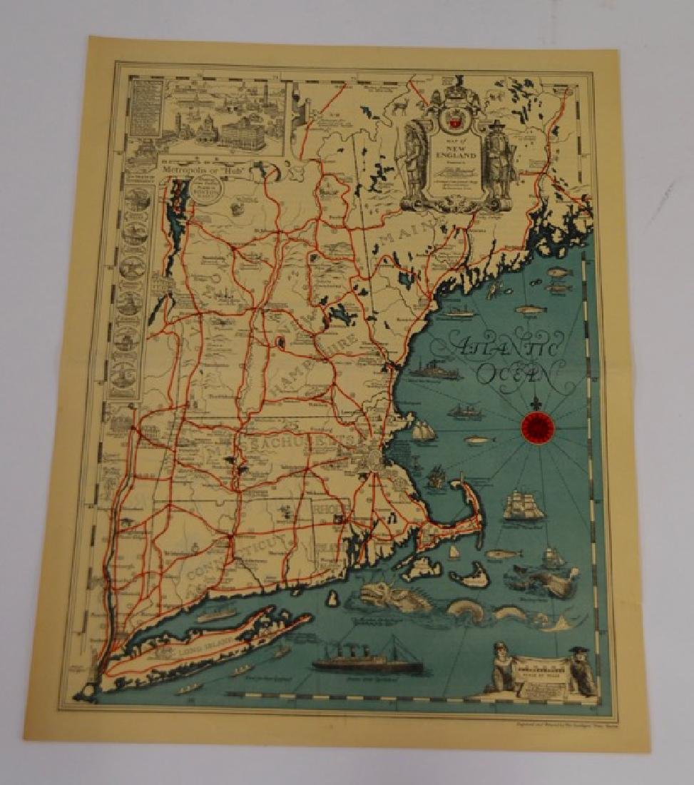 Two Maps of New England