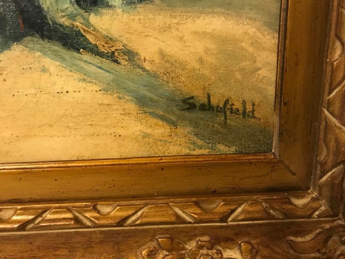 Walter Schofield. Oil. Winter Scene Sgd. - 2