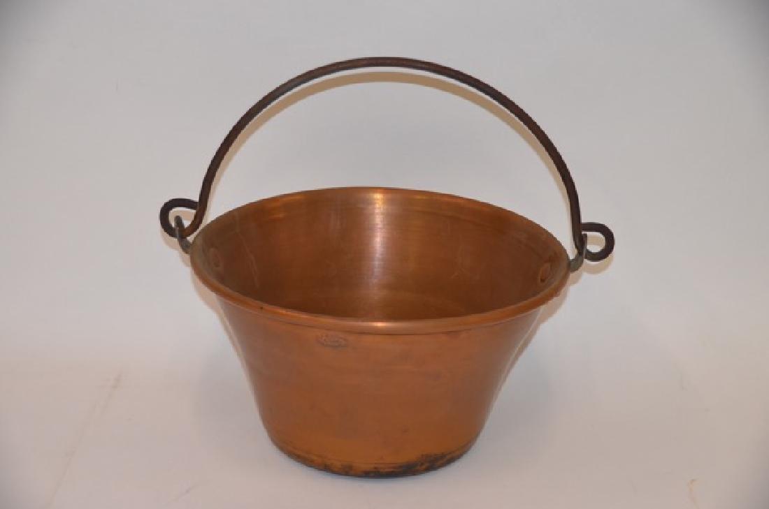 Vintage Copper Kettle Bail Handle