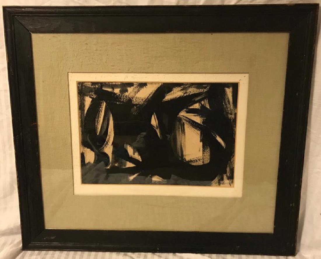 Franz Kline. Abstract. Sgd.