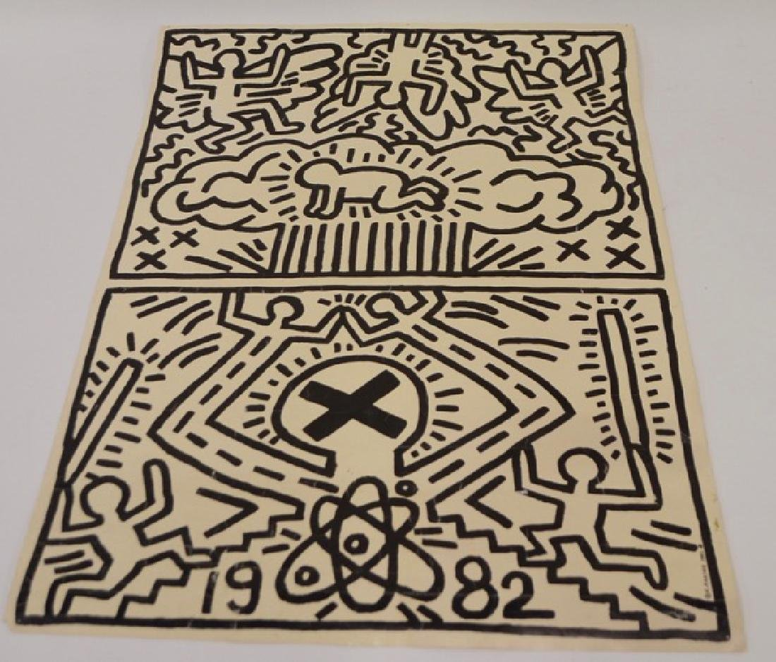 Keith Haring Poster, 1982