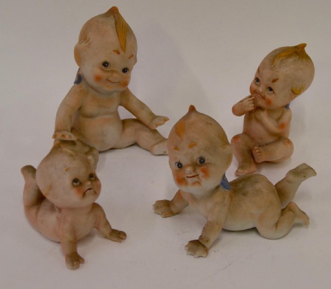 Ardalt Bisque Kewpie Dolls (4)