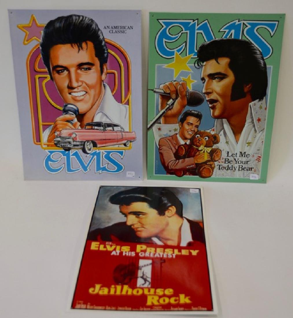 Elvis Tin Signs (3)
