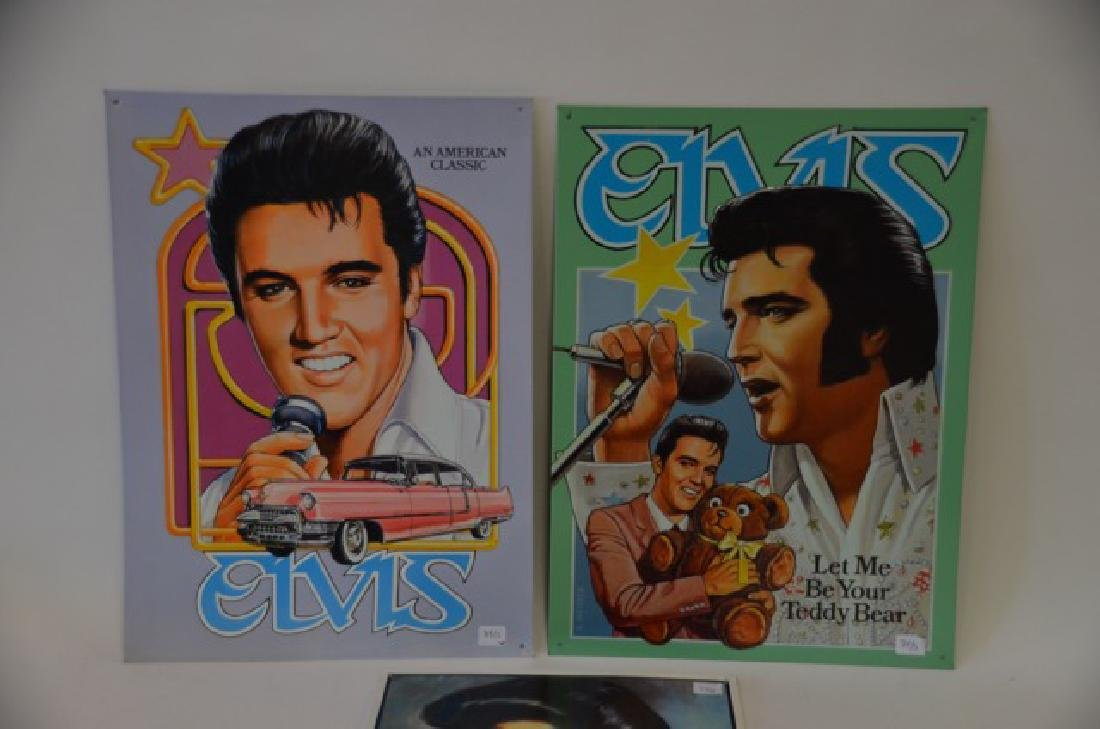 Elvis Tin Signs (3) - 2