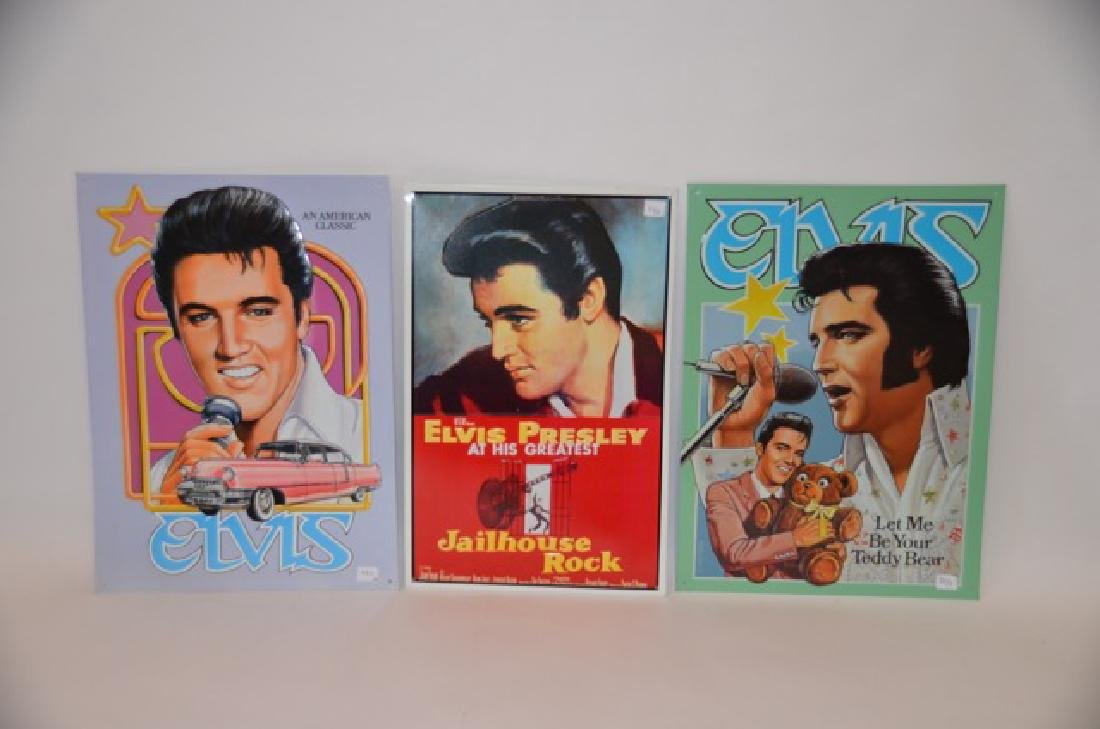 Elvis Tin Signs (3) - 3
